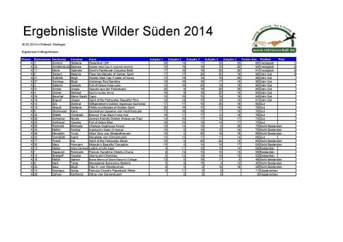 Ergebnisse Wilder Sueden 2014 A - F - O-page-002